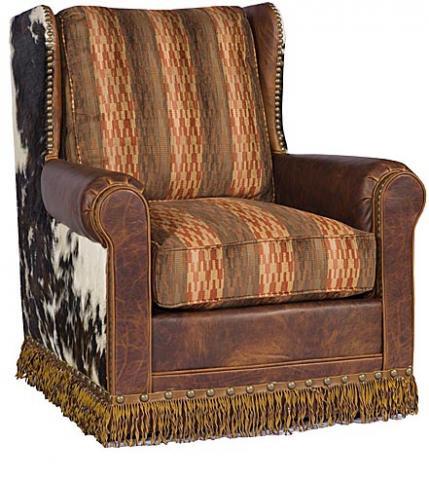 King Hickory - Carlsbad Swivel Chair - 0981-SLF