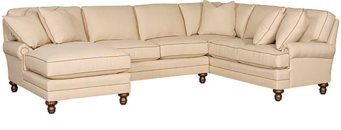 King Hickory - Kelly Sectional - KELLY SECTIONAL