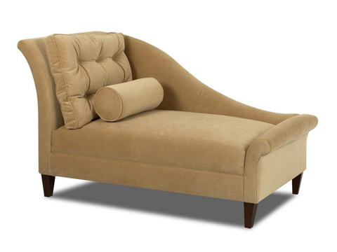 Klaussner Home Furnishings - Lincoln Chaise Lounge - 270R CHASE