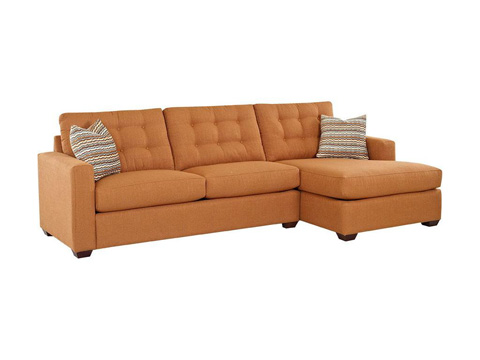 Klaussner Home Furnishings - Lido Sectional - K34200L S/K34200R CHASE