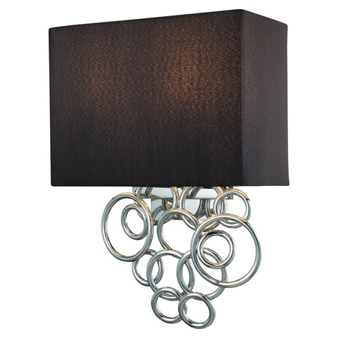 George Kovacs Lighting, Inc. - Ringlets Wall Sconce - P400-3-077