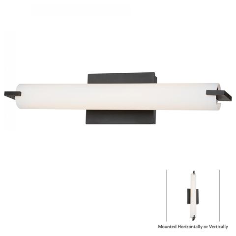 George Kovacs Lighting, Inc. - Tube Bath Wall Sconce - P5044-37B-L