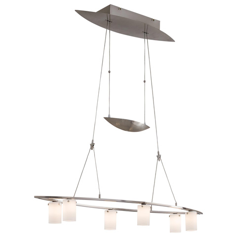 George Kovacs Lighting, Inc. - Counter Weights Low Voltage Island Pendant - P8026-084