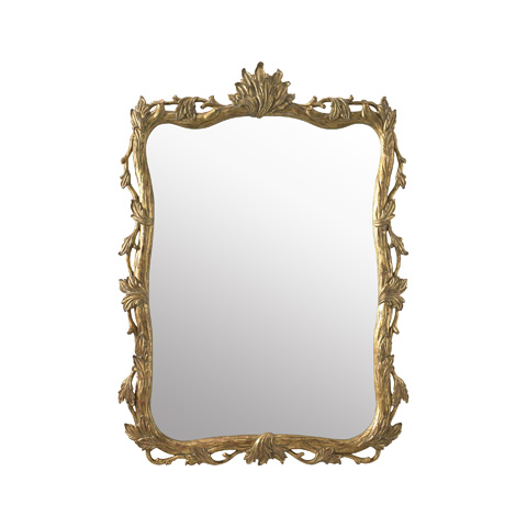 La Barge - Hand-Carved Wooden Mirror - LM2254