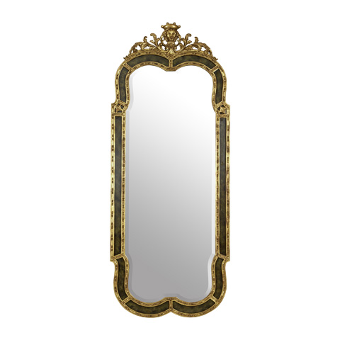 La Barge - Painted Faux Marble Finished Mirror - LM2318