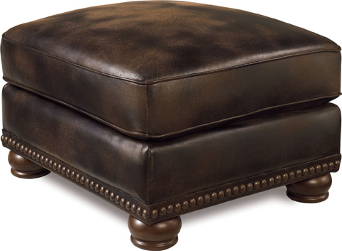 Lane Home Furnishings - Benson Faux Leather Ottoman - 630-17