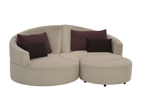 Lazar - Siamese Twin Lounge Storage Chair - 133147R