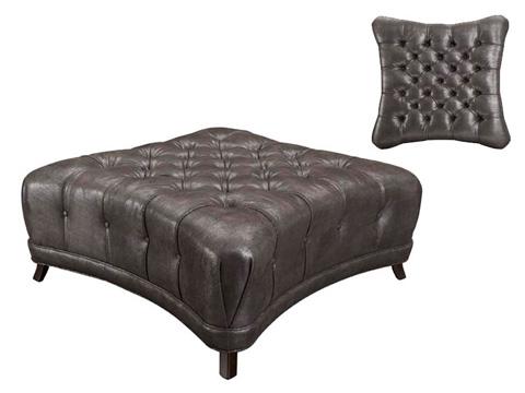 Leathercraft - Oliver Tufted Ottoman - 303-3
