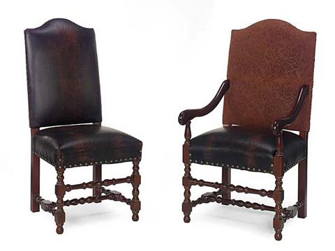 Leathercraft - Vaughn Dining Arm Chair - 409