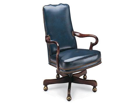 Leathercraft - Geurin Tilt Swivel Chair - 703-27