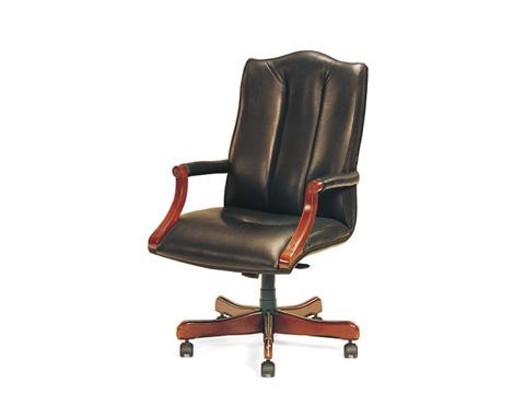 Leathercraft - Harvard High Back Tilt Swivel Chair - 7603H-OA