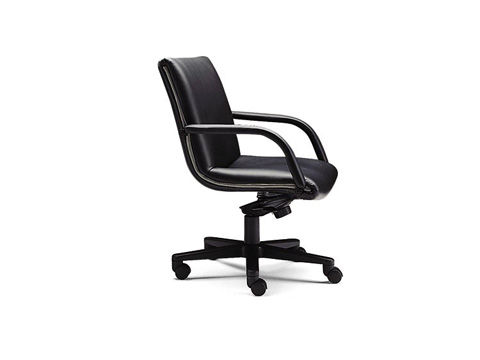 Leathercraft - Brentley Low Back Knee Tilt Swivel Chair - 9452