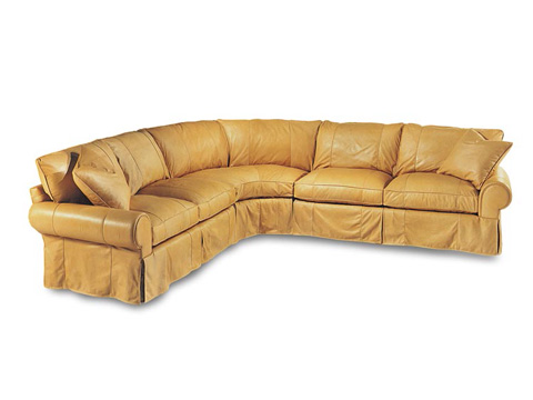 Leathercraft - Louisa Series Sectional - 3570