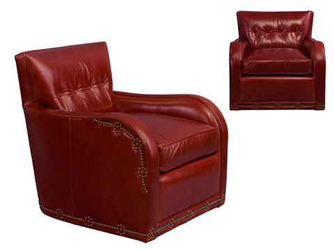 Leathercraft - Natchez Swivel Chair - 1812-SW