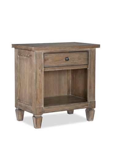 Legacy Classic Furniture - Brownstone Village One Drawer Open Nightstand - 2760-3101