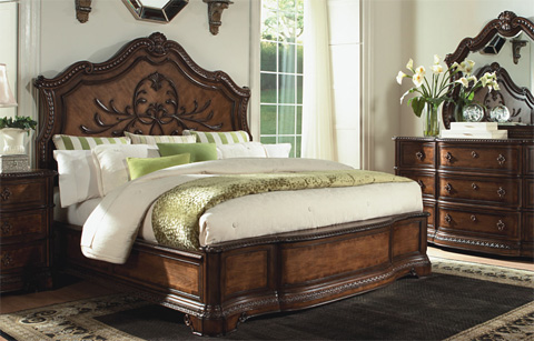 Legacy Classic Furniture - King Panel Bed - 3100-4106K