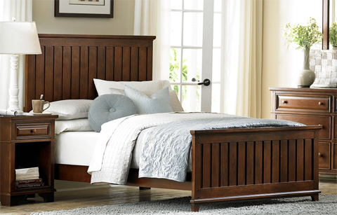 Legacy Classic Furniture - Queen Panel Bed - 2960-4105K