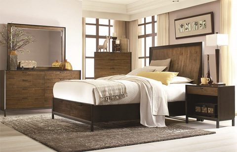 Legacy Classic Furniture - Kateri Curved California King Storage Bed - 3600-4107SK
