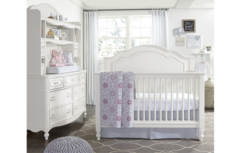 Legacy Classic Furniture - Grow With Me Convertible Crib - 4910-8900