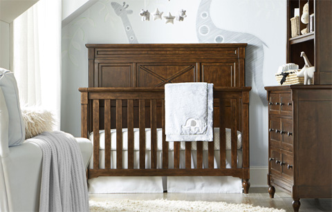 Legacy Classic Furniture - Grow With Me Convertible Crib - 4920-8900