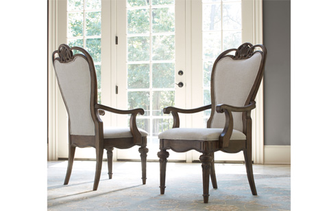 Legacy Classic Furniture - Upholstered Back Arm Chair - 5500-241 KD