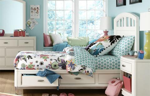 Legacy Classic Furniture - Twin Platform Storage Bed - 9910-4733K
