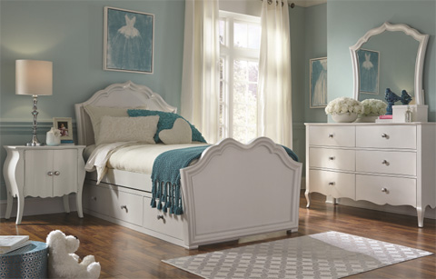 Legacy Classic Furniture - Full Panel Bed - 5930-4104K