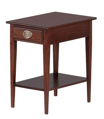 Leisters Furniture, Inc. - Rectangular End Table with Shelf - 693