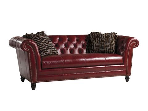 Lexington Home Brands - Bridgewater Leather Sofa - 9550-33-01