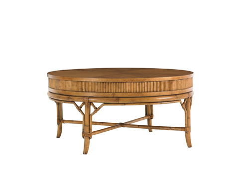 Tommy Bahama - Oyster Cove Round Cocktail Table - 540-943