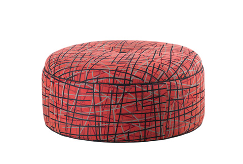 Lexington Home Brands - Reid Ottoman - 7847-44
