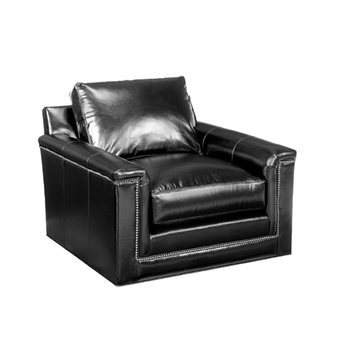 Lexington Home Brands - Balance Leather Swivel Chair - LL7886-11SW