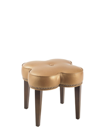 Lexington Home Brands - Pampelonne Leather Ottoman - LL7971-44