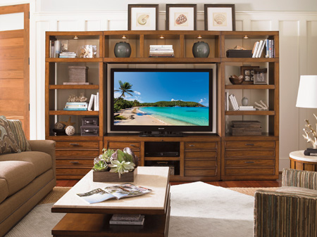 Lexington Home Brands - Plantation Bay Entertainment Center - 279LK-ENT