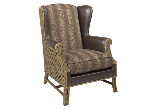 Lexington Home Brands - Sanctuary Leather Wing Chair - LL1564-11