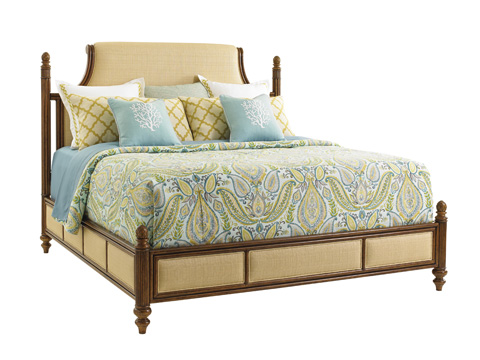 Tommy Bahama - Orchid Bay King Upholstered Panel Bed - 593-144C