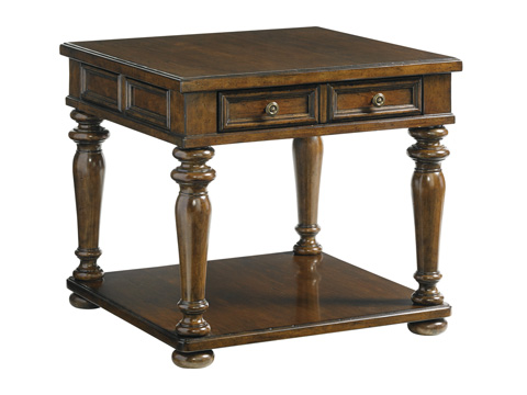 Lexington Home Brands - Fairfield Lamp Table - 945-955