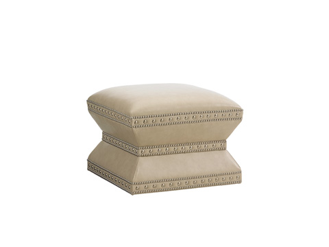 Lexington Home Brands - Wheatley Leather Ottoman - LL7112-44