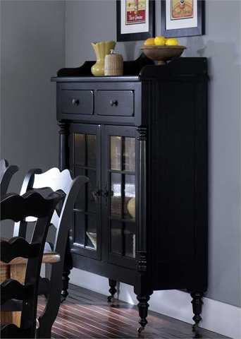Liberty Furniture - Display Cabinet with Glass Doors - 17-CH4866B