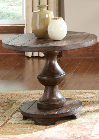 Liberty Furniture - Spanish Planked End Table - 231-OT1020
