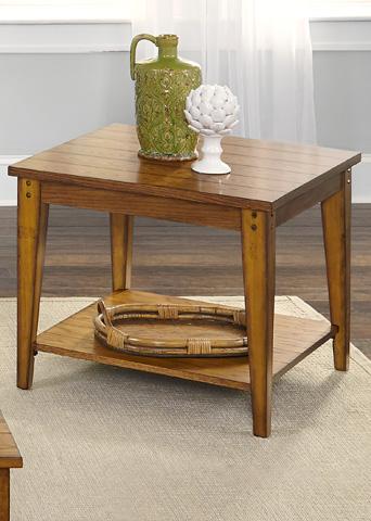 Liberty Furniture - Square Lamp Table - 110-OT1023