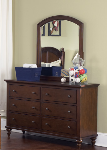 Liberty Furniture - Six Drawer Dresser - 277-BR30