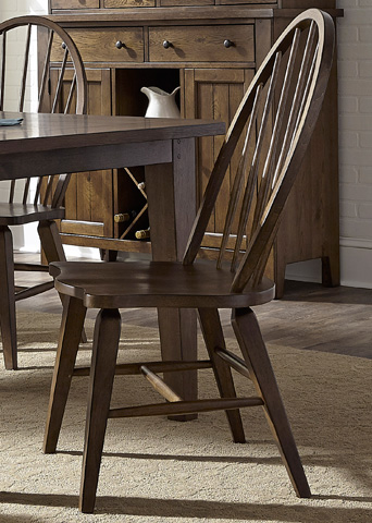 Liberty Furniture - Windsor Back Side Chair - 382-C1000S