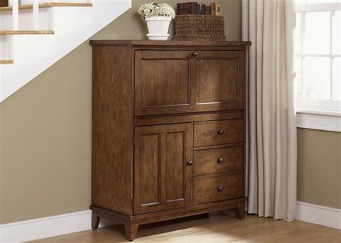 Liberty Furniture - Computer Cabinet - 382-HO108