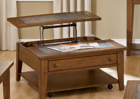 Liberty Furniture - Lift Top Cocktail Table - 382-OT1011