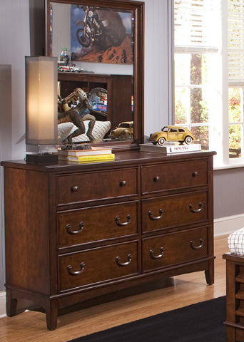 Liberty Furniture - Double Dresser - 628-BR32
