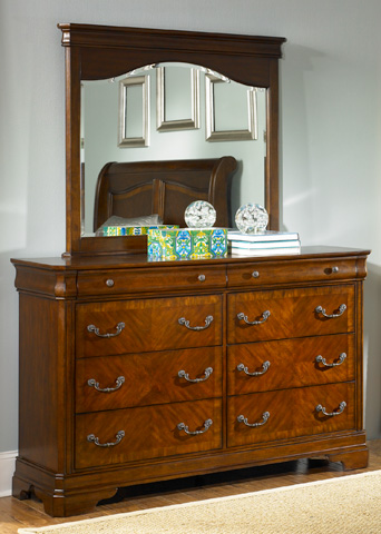 Liberty Furniture - Eight Drawer Dresser - 722-BR31