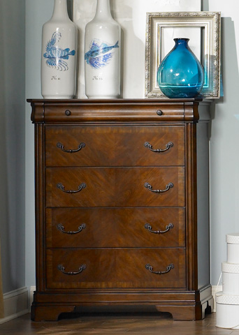 Liberty Furniture - Five Drawer Chest - 722-BR41