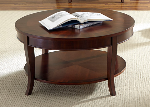 Liberty Furniture - Round Cocktail Table - 748-OT1010