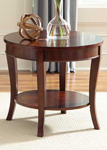 Liberty Furniture - Round End Table - 748-OT1020